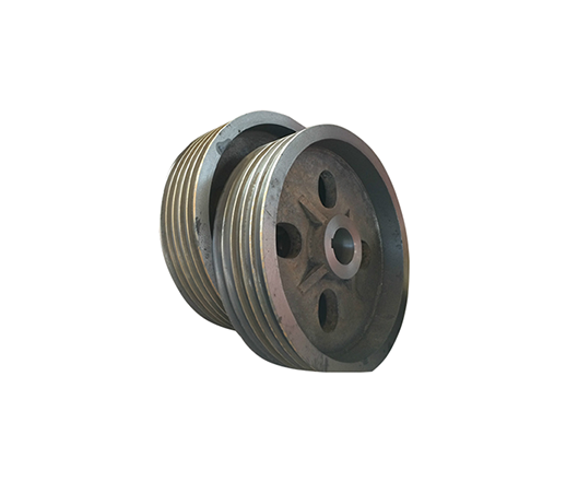 FLY AND GROOVED WHEEL