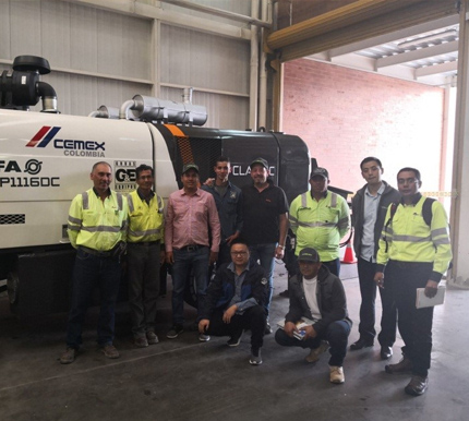 First Show of Zoomlion's CIFA C Series Trailer Pump in South America Participating in the Construction of Columbia's Future First Skyscraper