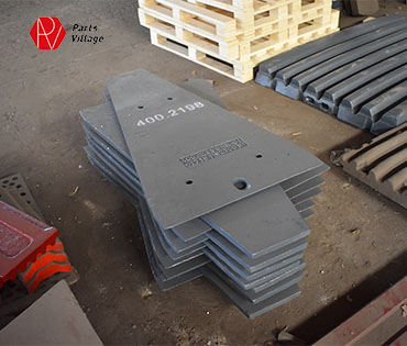 Other Jaw Crusher Parts For Sandvik